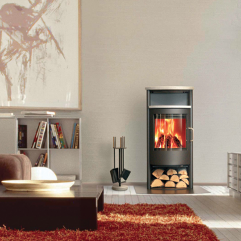 temperature control wood stoves