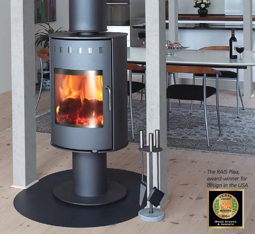 Rais Pina Wood Stove For Sale