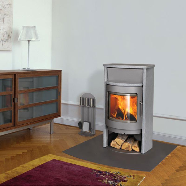 Rais Mino II Wood Stove Configuration Options Rais Mino II With Soapstone  Sides and Top - Rais Mino II Wood Stove For Sale