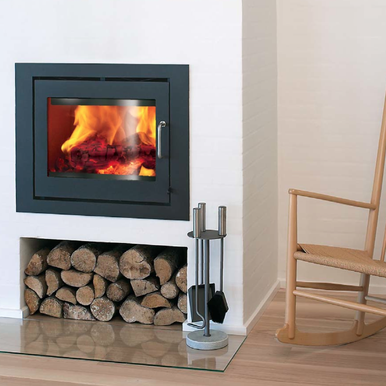 The Rais 60 Insert Wood Fireplace is Rais