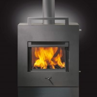Rais X-Basic Freestanding Wood Fireplace