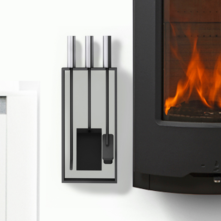 Rais Tetra Fireplace Toolset Rais Stoves